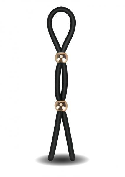 Frederick's of Hollywood Adjustable Stamina Lasso Black