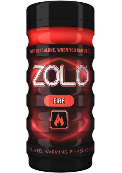Zolo Fire Real Feel Pleasure Cup Red