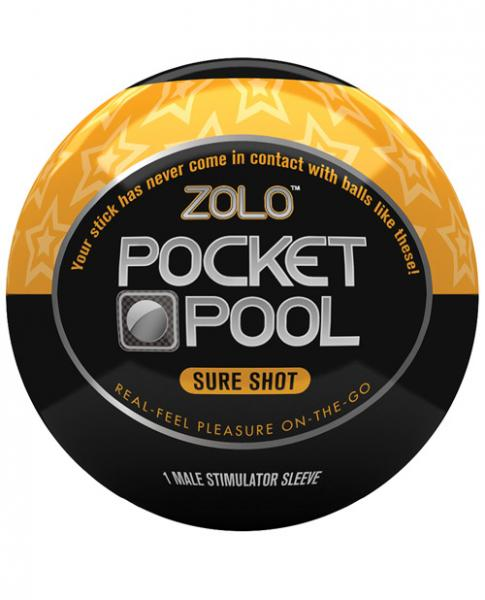 Zolo Pocket Pool Sure Shot Orange Sleeve