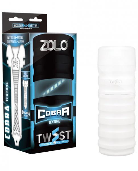 Zolo Twist 2 Cobra Masturbator White