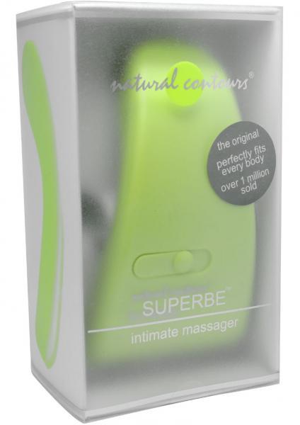Natrual Contours Superbe Intimate Massager Green