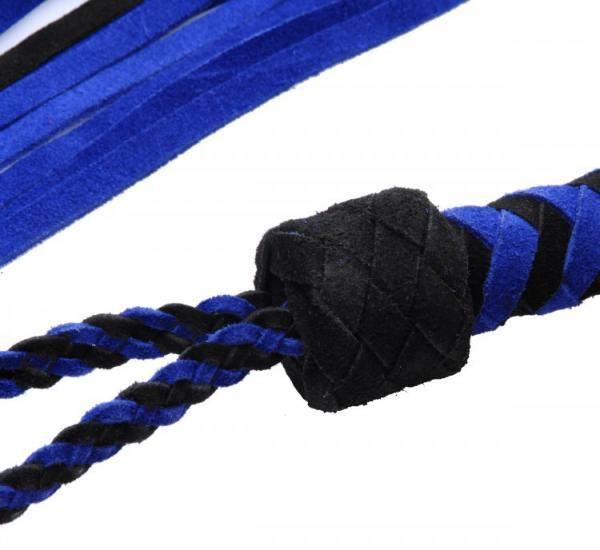 Black And Blue Suede Flogger