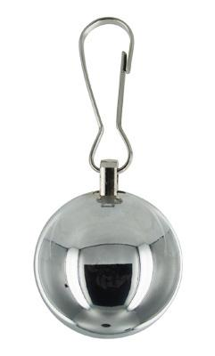 Deviants Orb 8oz Ball Weight Silver