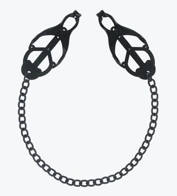 Monarch Noir Nipple Vice Black Metal Clamps