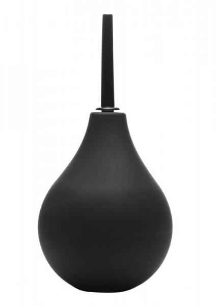 Clean Stream Thin Tip Silicone Enema Bulb Black