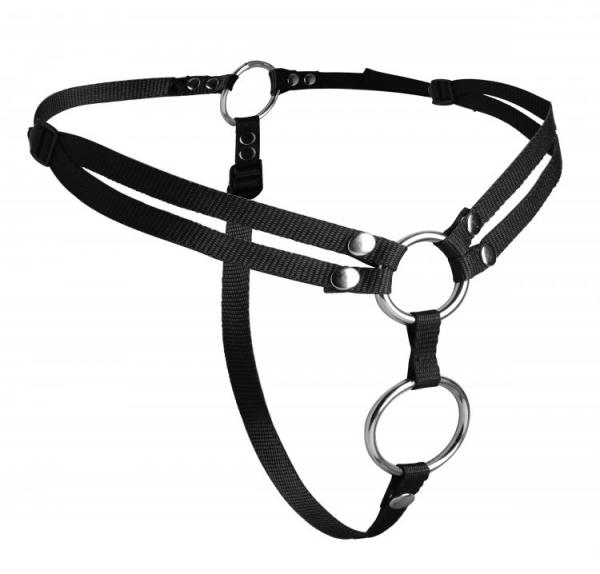 Strap U Unity Double Penetration Strap On Harness