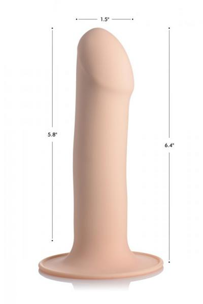 Squeeze-It Squeezable Phallic Dildo Beige 1
