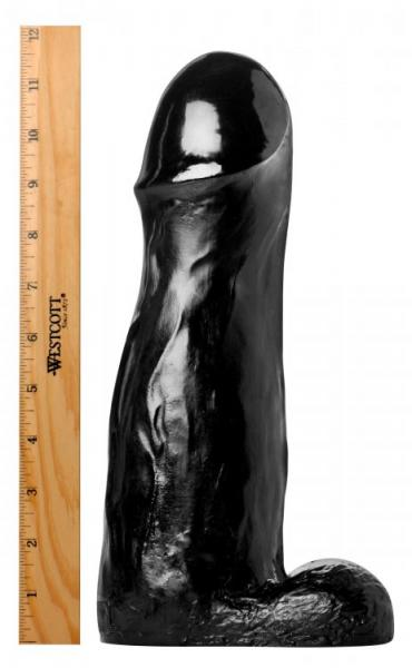 The Manolith Black 11.75 inches Dildo