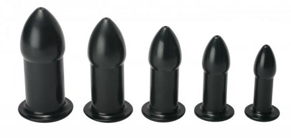 Ease In Anal Dilator Kit Black