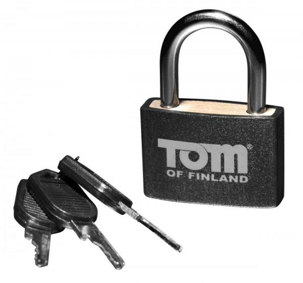 Tom Of Finland Metal Lock Black