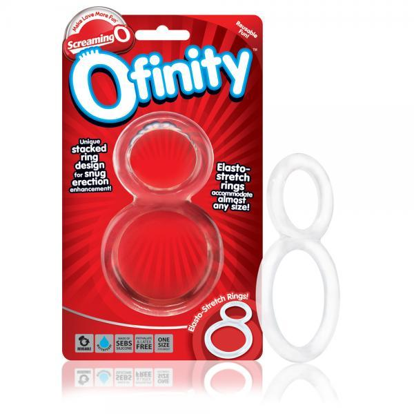 Ofinity Double Erection Ring - Clear