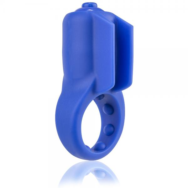 Primo Minx Blue Vibrating Ring with Fins