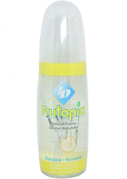 ID Frutopia Flavored Lubricant Banana 3.4oz