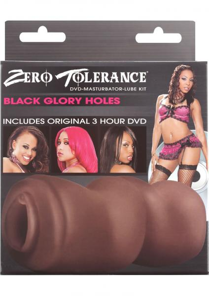Zero Tolerance Black Glory Holes Masturbator And DVD