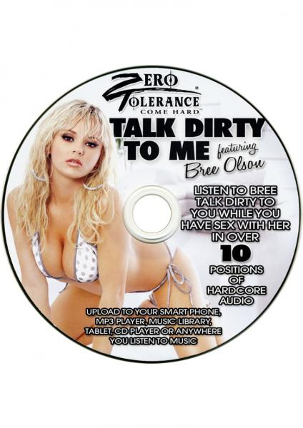 Talk Dirty To Me Bree Olsen Audio CD