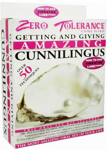 Getting And Giving Amazing Cunnilingus Kit