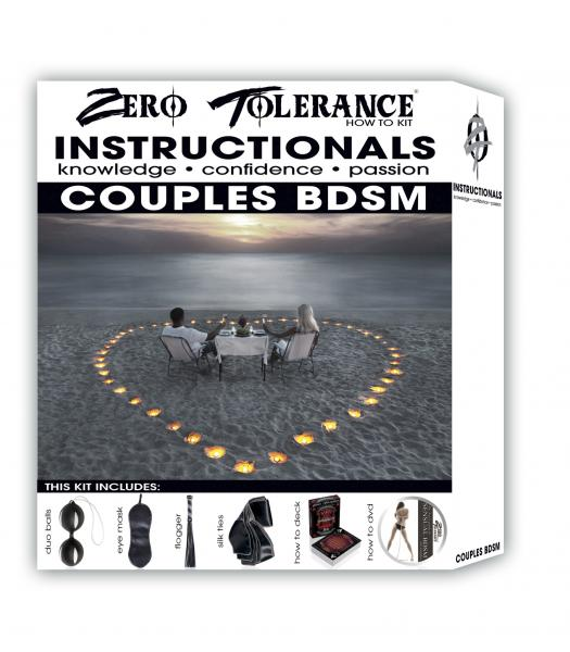 How To Couples Instructional BDSM Kit