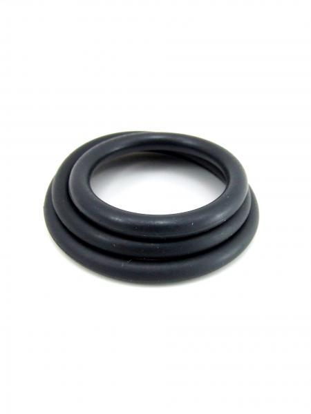 M2M Nitrile C Rings Pack of 3 - Black
