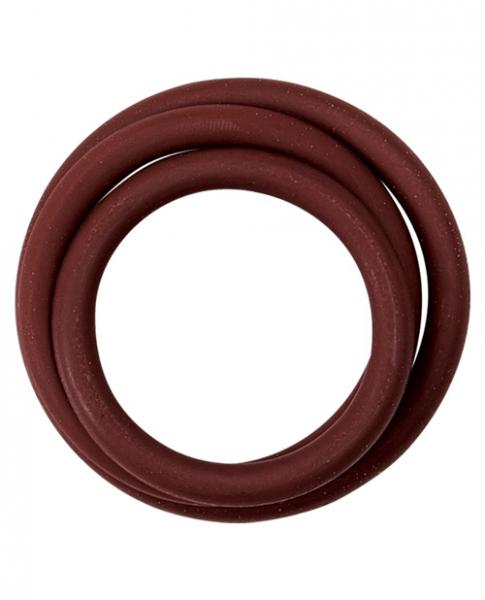 M2M Nitrile Cock Ring Pack of 3 Brick