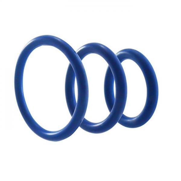 M2M Nitrile Cock Ring Pack of 3 Dark Blue