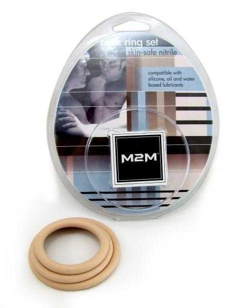 M2M Nitrile C Ring 3 Pack - Nude