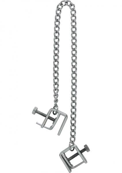 Adjustable Press Nipple Clamps With Link Chain
