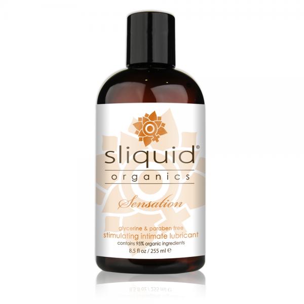 Sliquid Organics Sensations Warming Lubricant 8.5oz