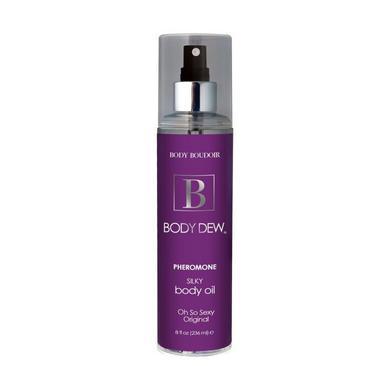 Body dew moisturizing after bath oil mist w/pheromones - 8 oz or