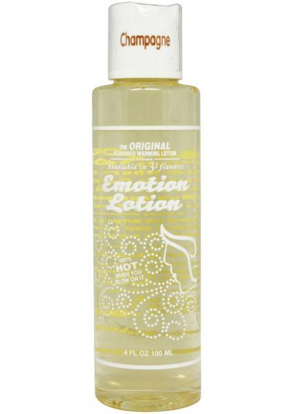 Emotion lotion, champagne