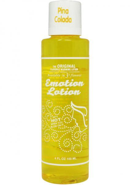 Emotion lotion, pina colada