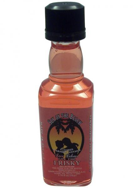 Love Lickers Flavored Warming Oil - Sex On The Beach 1.76oz