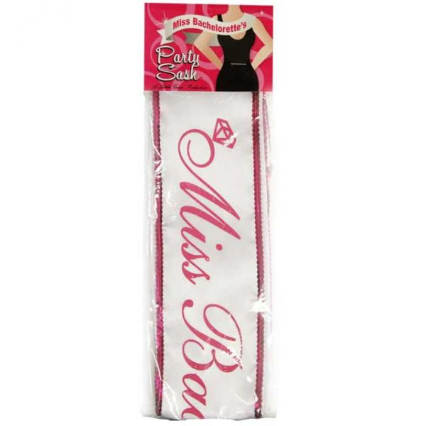 Miss Bachelorette Party Sash 5 Foot