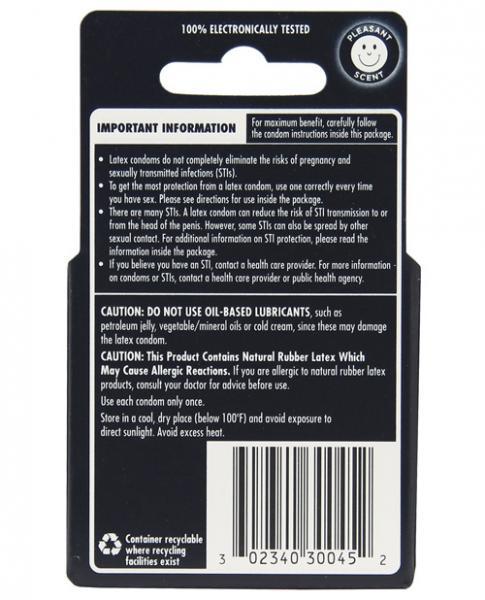 Durex XXL Lubricated 3 Pack Latex Condoms
