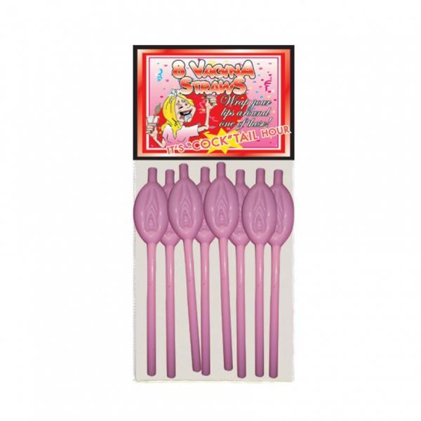 Vagina Straws 8 Pack