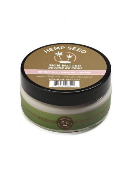 Earthly body skin butter - 8 oz skinny dip