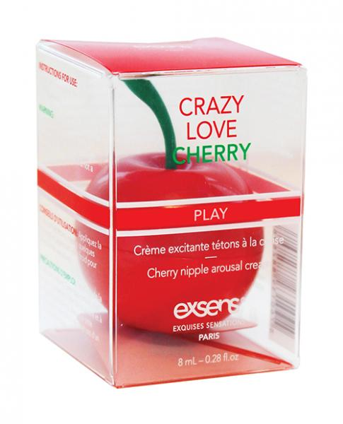 Exsens Of Paris Nipple Cream Crazy Love Cherry .27oz