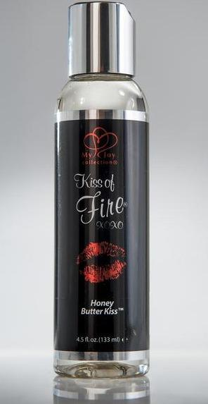 Kiss of fire massage lotion warming, honey butter
