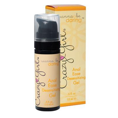 Wanna Be Daring Anal Ease Desensitizing Gel 0.5 oz