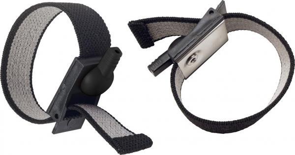 Electrabands Adjustable Fabric Bands Black
