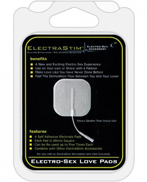 Electrastim  Love Pads Square 4 Pack