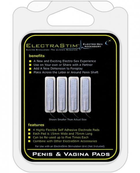 Electrastim Penis Vagina Pads 4 Pack
