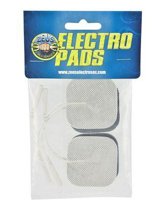 Zeus Adhesive Electro Pads 4 Pack