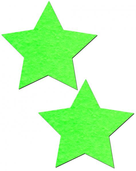 Glow In The Dark Stars Pasties O/S