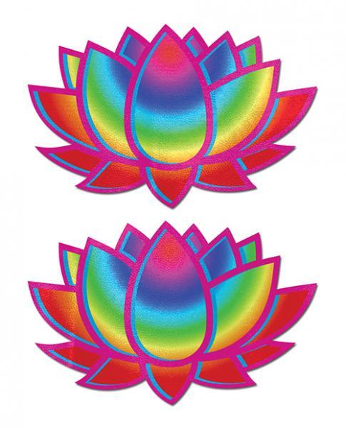 Pastease Acid Lotus Rainbow Pasties O/S