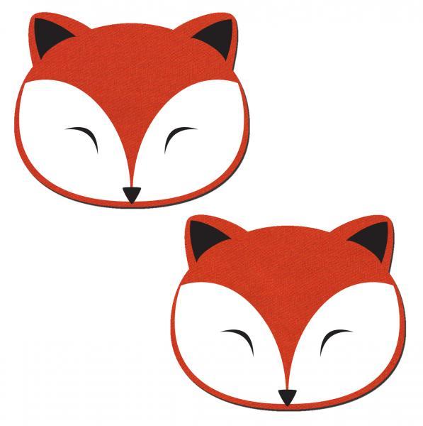 Pastease Fox Nipple Pasties O/S