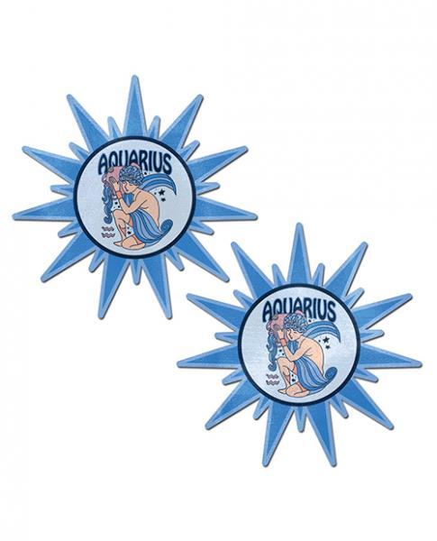 Pastease Astrology Sunburst Aquarius Blue O/S