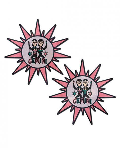 Pastease Astrology Sunburst Gemini Pink Black O/S