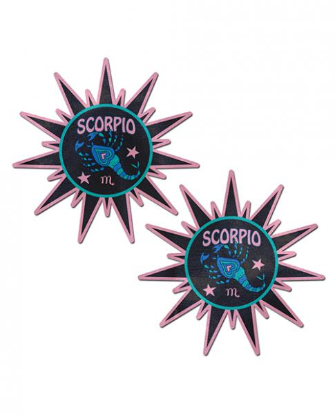 Pastease Astrology Sunburst Scorpio Black Pink  O/S