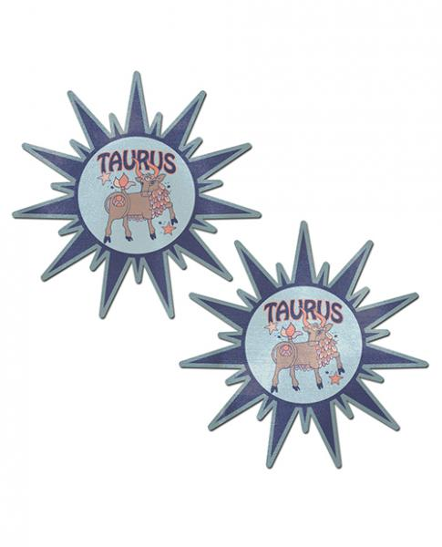 Pastease Astrology Sunburst Taurus Blue Gray O/S