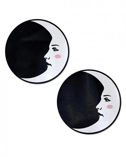 Pastease Man In The Moon Circle White Black O/S